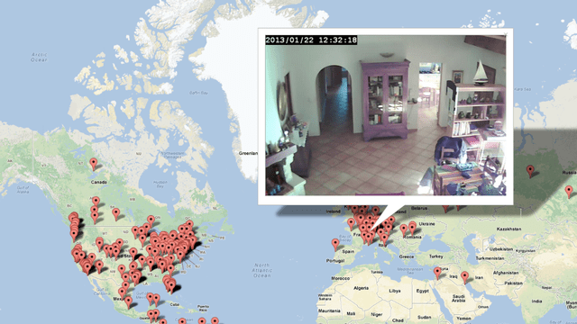This Interactive Map Lets You Spy on Insecure Webcam Feeds