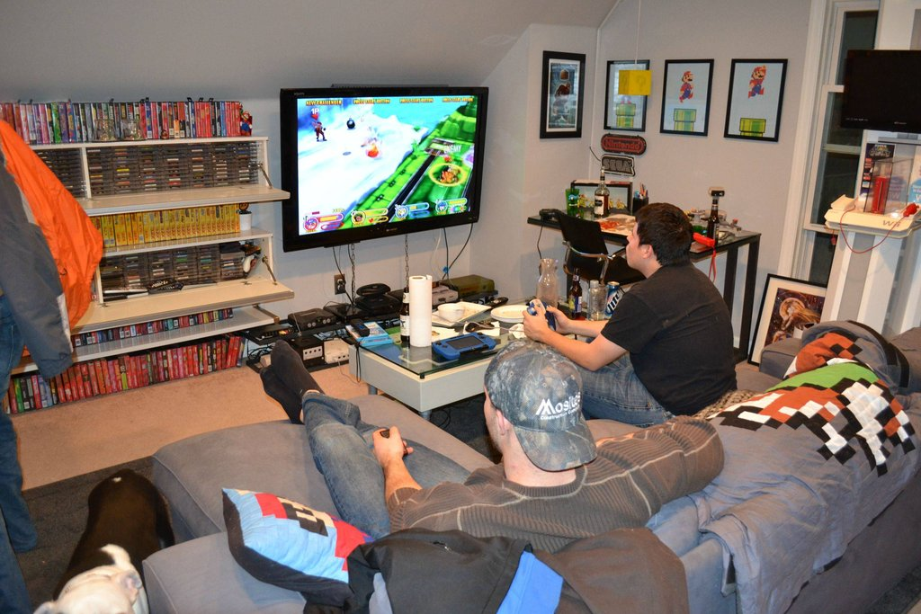 A Gaming Room For Which The Word Room Doesnt Really Do It Justice  Kotaku Australia