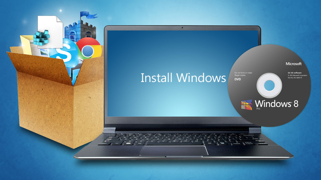 Click here to read How to Do a Clean Install of Windows Without Losing Your Files, Settings, and Tweaks