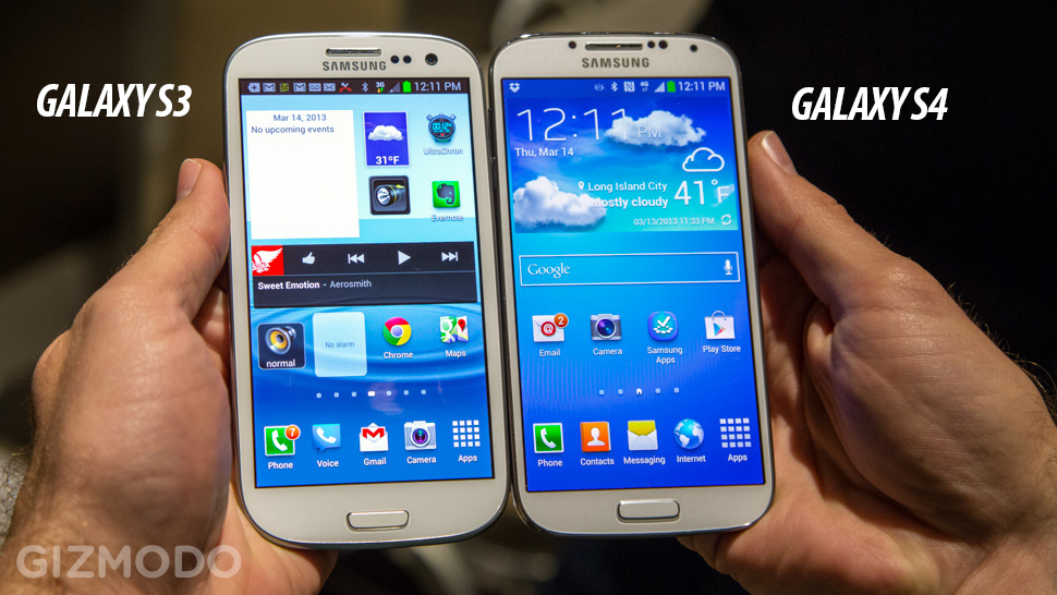 Samsung Galaxy S III vs Samsung Galaxy S4