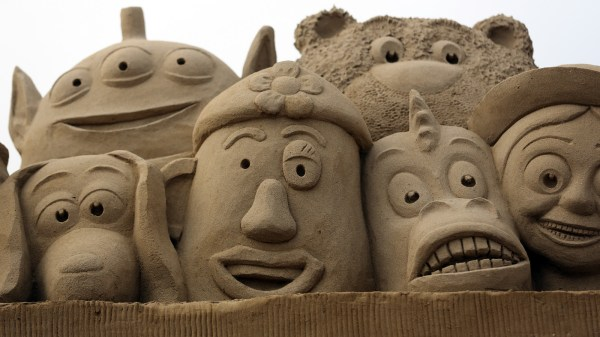 Splendid Sand Sculptures Weston-super-mare'