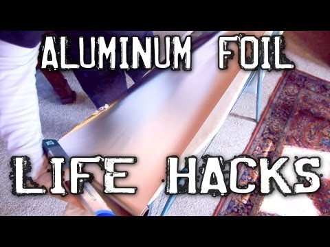 Click here to read 6 Clever Tricks You Can Do with Aluminum Foil