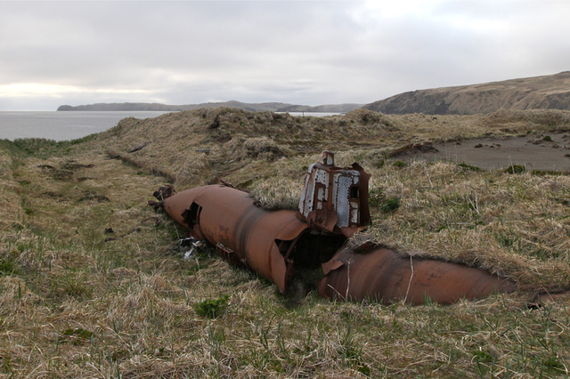There's nothing sadder than the wreck of a once-great submarine