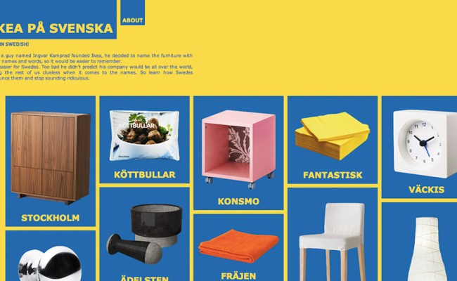 Ikea In Swedish Teaches You To Correctly Pronounce Its