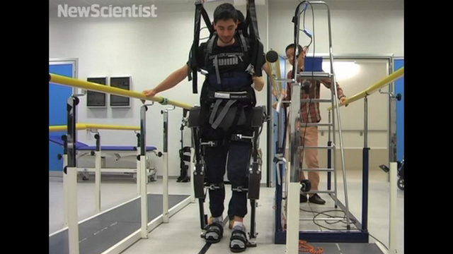 The World's First Mind-controlled Exoskeleton!