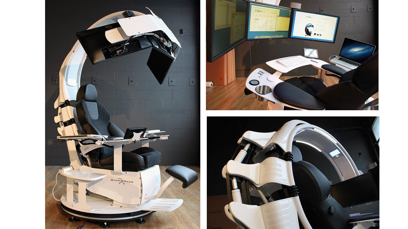 Scorpion Computer Chair This Is A Workstation Fit For An Emperor Gizmodo Australia