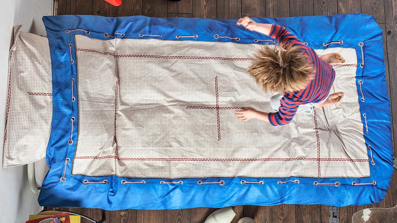 Trampoline Sheets Enhance What Beds Are Really For  Gizmodo Australia