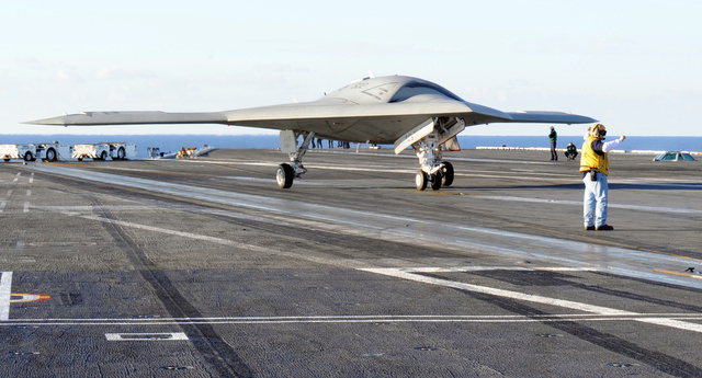 The X-47B Drone Has Landed on a Carrier, And War May Never Be the Same