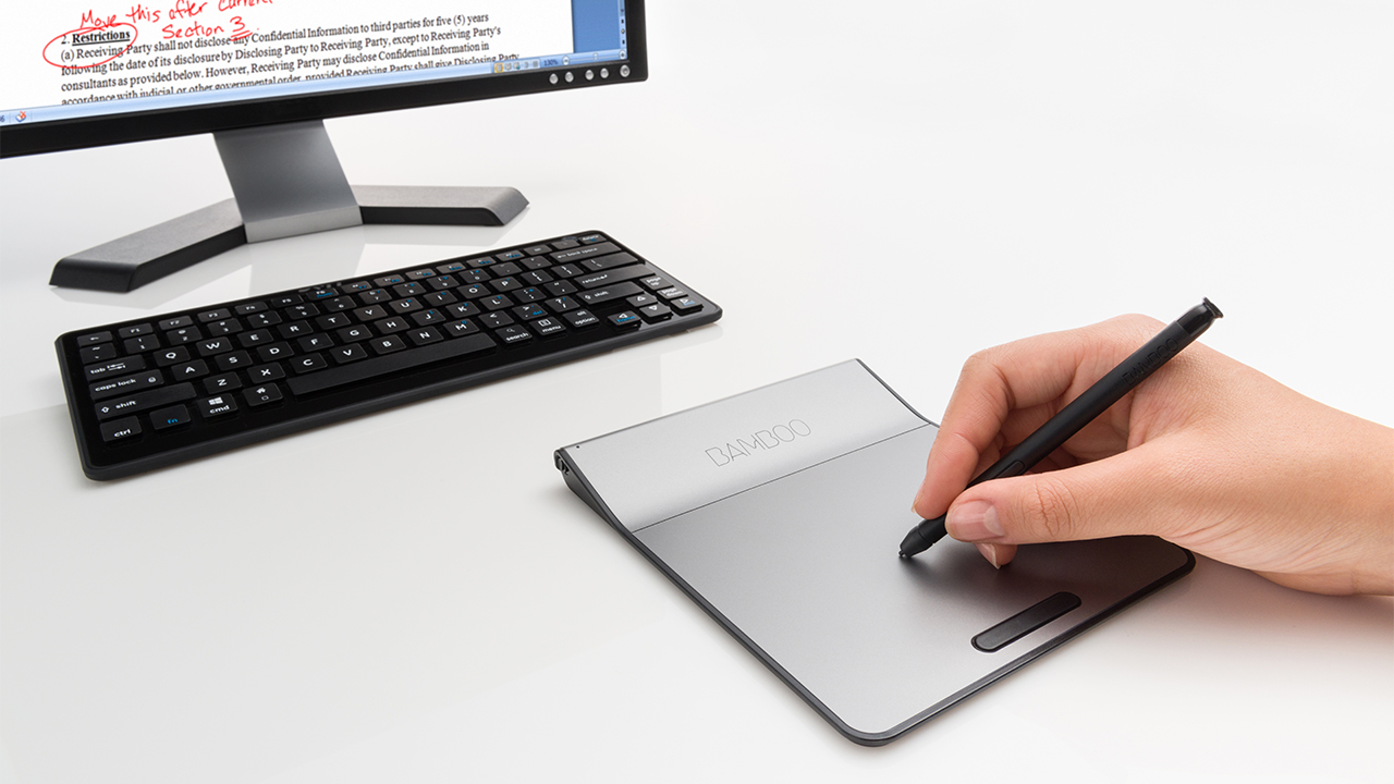 Wacom Bamboo Pad: A Touchpad Enhanced For Sketching And
