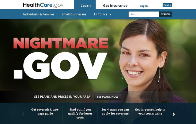 Everything That's Wrong with HealthCare.gov