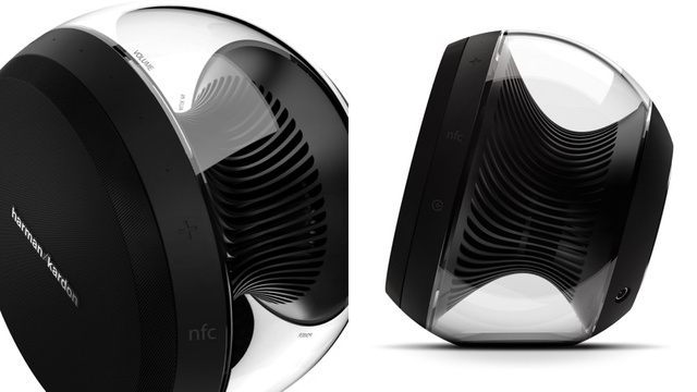 Harman's New Wireless Speakers Look Like Twin Turbines