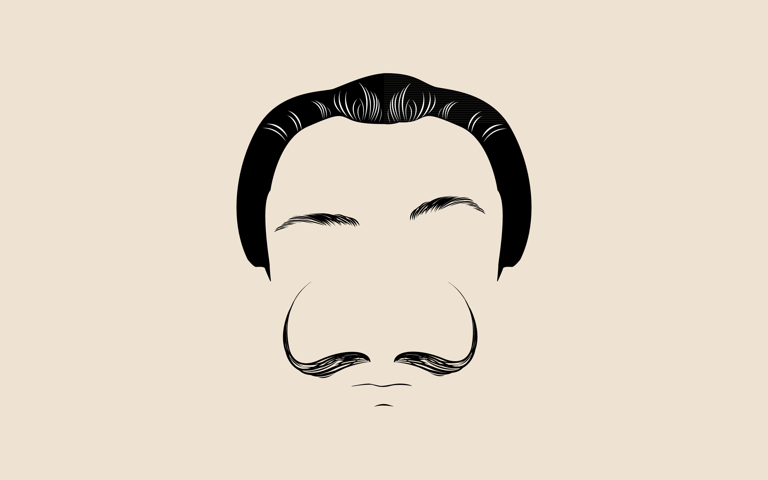 Cute Mustaches Wallpapers Weekly Wallpaper Put Moustaches On Your Desktop In Honour