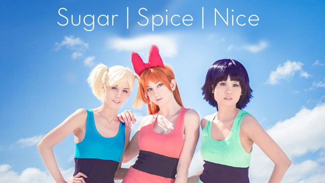 Here They Come Just In Time The Cosplaying Powerpuff