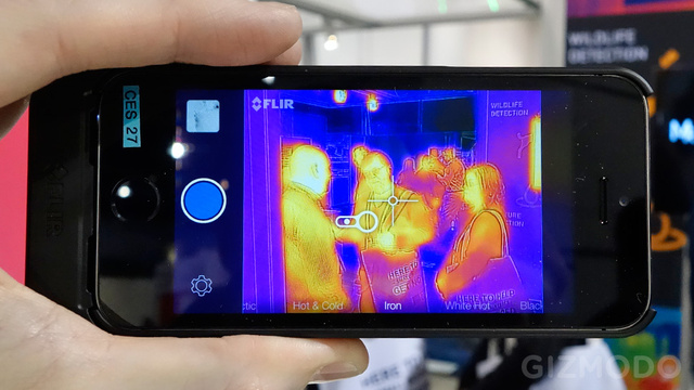 FLIR Just Turned Your iPhone 5 Into a Predator-Like Thermal Camera