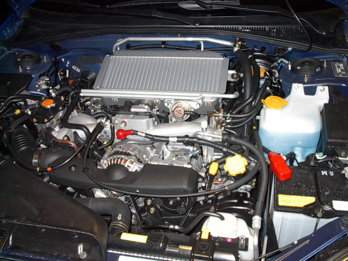 2002 Subaru Impreza Engine - What You Want The Engine Bay To Look Like - 2002 Subaru Impreza Engine