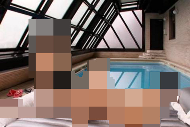 The Most Infamous Swimming Pool in Japanese Pornography