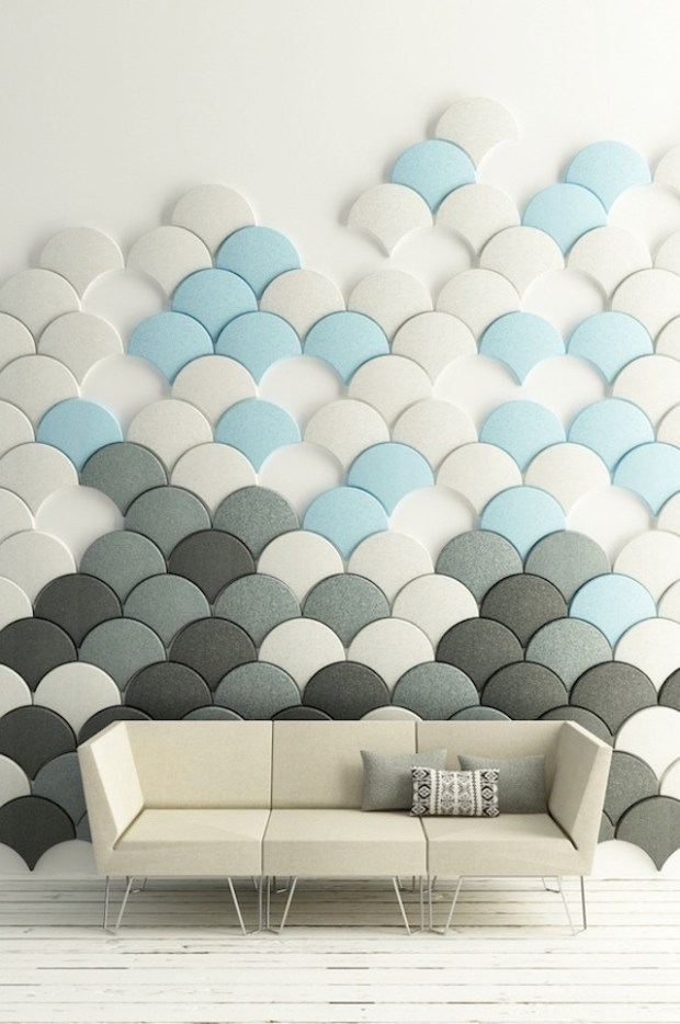 soundproof your walls in style | @meccinteriors | design bites