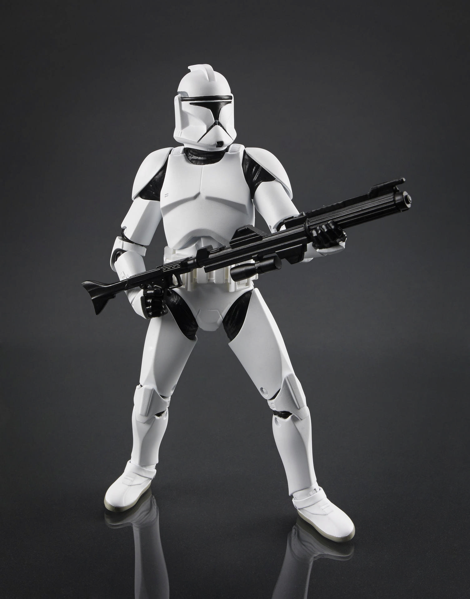 """Star Wars Black Series 6/"""" Action Figure new,but without box clone trooper A60K"""
