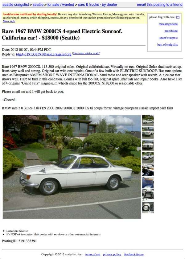 Craigslist Seattle Cars By Owner >> 20 Craigslist Seattle Tacoma Job Pictures And Ideas On Weric