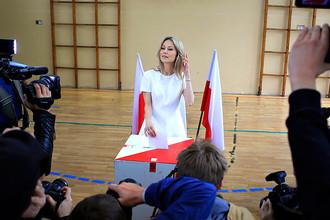 Kandydat na prezydenta RP Magdalena Ogurek