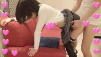 【個撮】超美乳ロミロミたまごちゃん!初ルーズソックスが爆発的にエロ過ぎる!間髪入れずの大絶叫クリイキ映像(1)