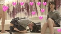 【個撮】キュン死確定!無邪気過ぎ日向坂美少女アイドルが白目ぶっ飛び壮絶イキ痙攣!マン汁ぶしゃー漏らしまくりデレ映像(1)