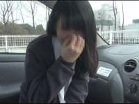 【個撮】ウブな黒髪たまごちゃんに暴発!お顔に大量ザーメンぶっかけ映像(1)
