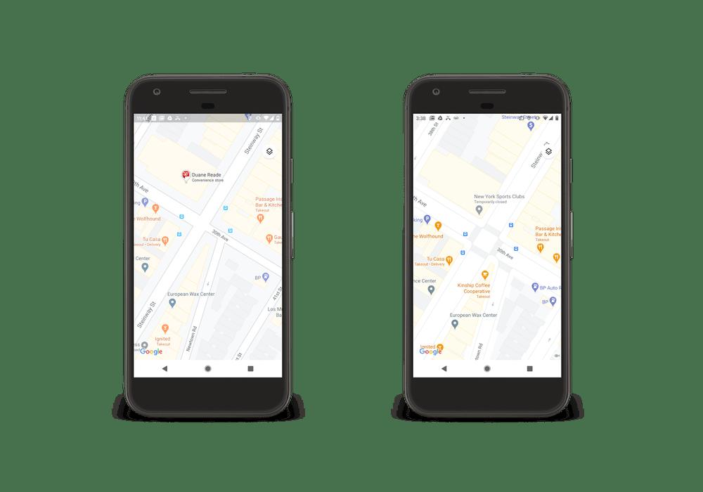 Google Maps va afficher l'affluence des sites touristiques