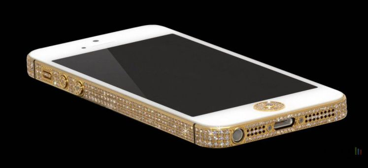 iPhone 5 en diamants et en or: prix: un million de dollars!