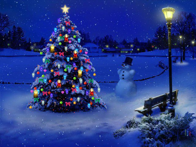 Christmas Falling Snow Wallpaper Note 3 My 3d Christmas Tree
