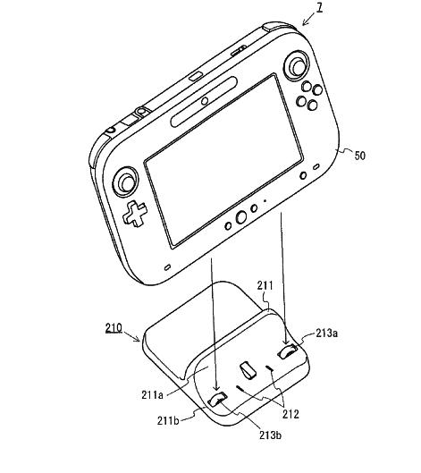 Wii U : socle pour recharger la manette / tablette