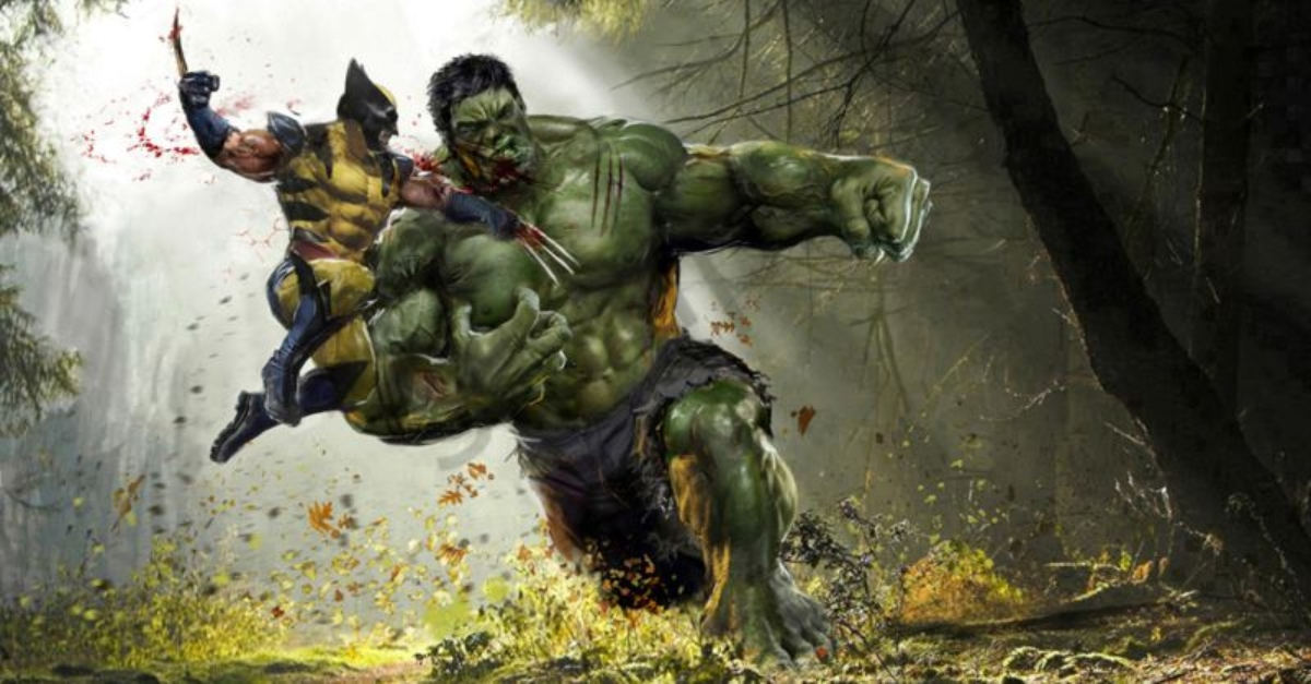 Animal Rights Wallpaper Hulk Vs Wolverine A Marvel Movie Is In The Works