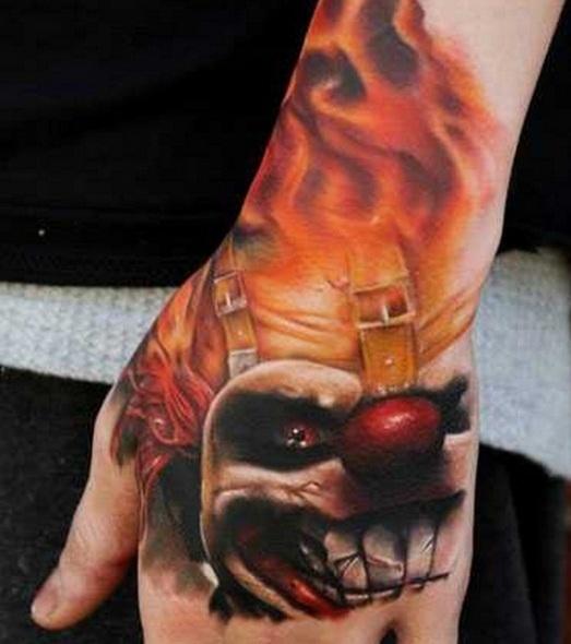 Kleine Hand Tattoos Mann