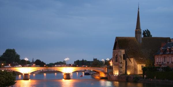 Géocache de l'Eglise Saint-Maurice de Sens en Bourgogne