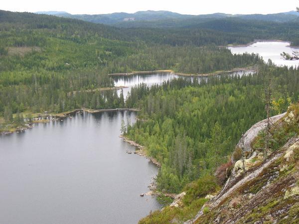 Utsikt fra Pershusfjellet. Linket fra Kjentmenns forum.