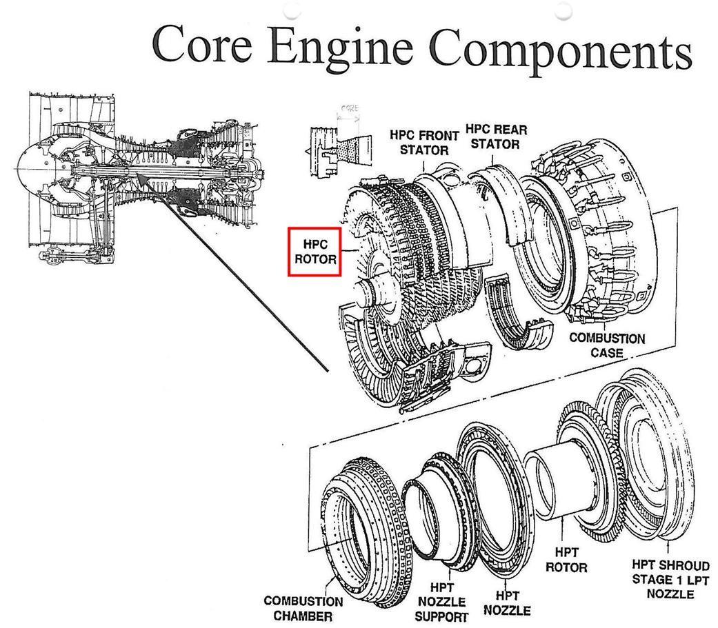 hight resolution of cfm56 engine diagram