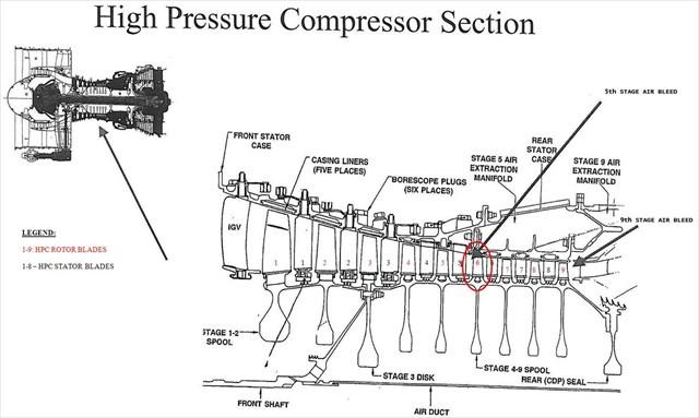 Cfm56 Engine Cutaway, Cfm56, Free Engine Image For User