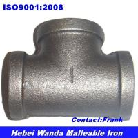 Cheap Black malleable iron pipe fitting Tee of ec90006972