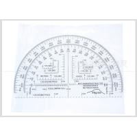 Cheap Half Moon Shaped Military Protractor Field Kit 6