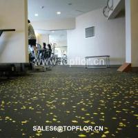 Cheap Interlocking rubber gym flooring/ Weight room gym ...