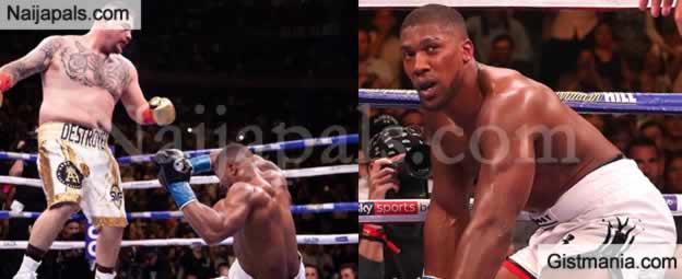 Ngozika Ekwelum Nigeria Heavyweight Champion Anthony Joshua Andy