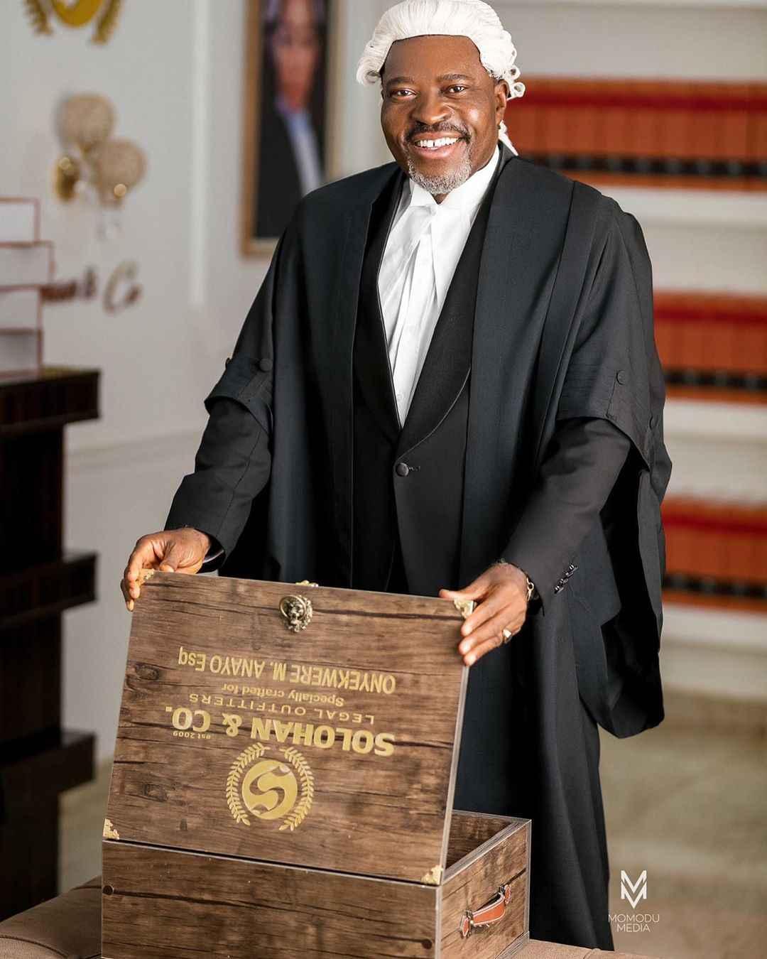 Nigerian Movies: Actor Kanayo O. Kanayo Now a Full Time Lawyer at 58 (Photos) 3