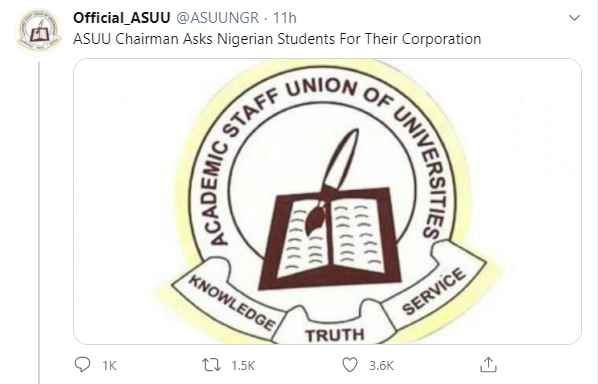 Nigerian Students On Twitter Lashes Out At ASUU 2