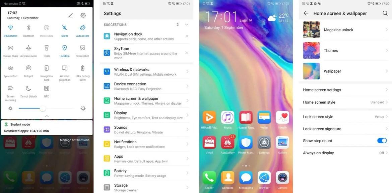 Huawei permitirá que os utilizadores activem o modo de desempenho na EMUI 9.0 1