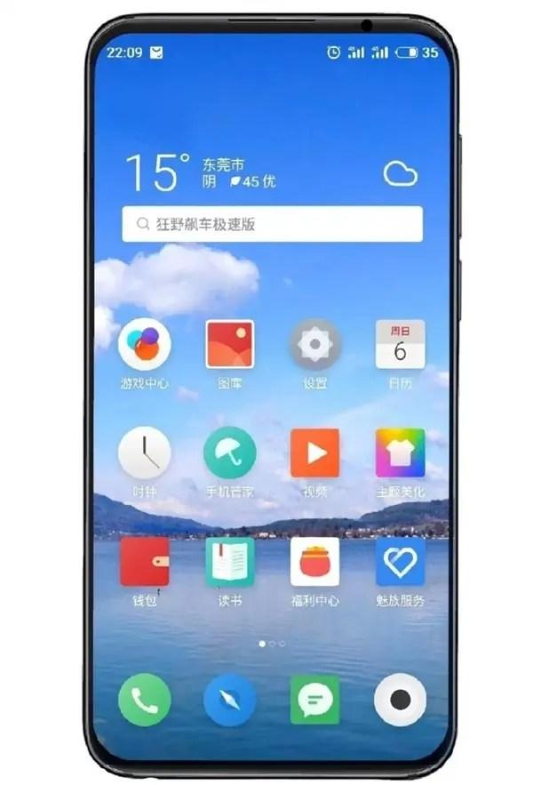 Huang Zhang partilha mais detalhes sobre o Meizu 16s 1