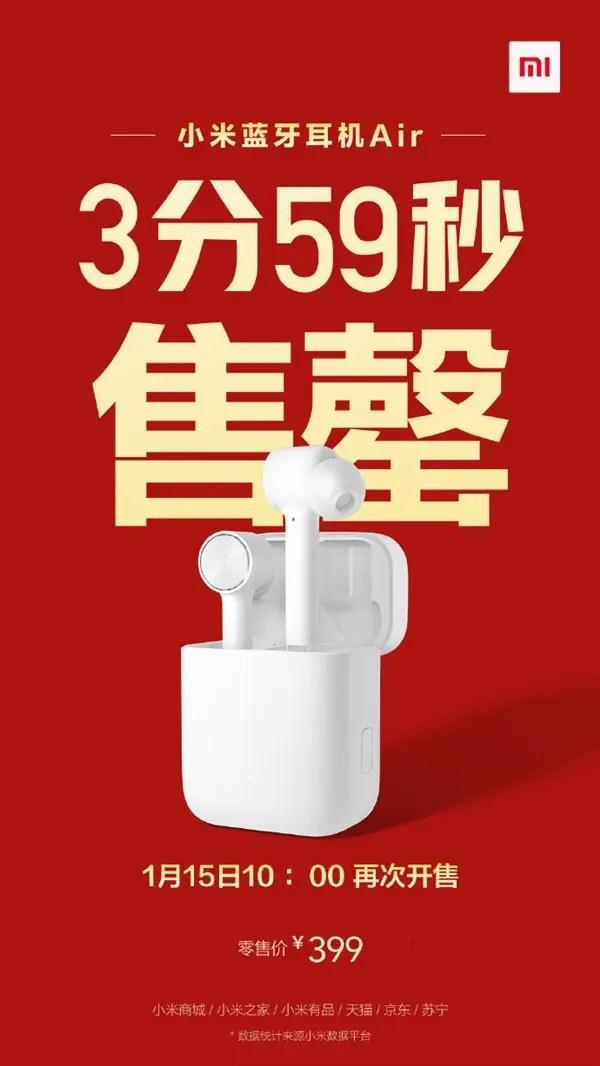 Xiaomi Mi AirDots Pro esgotou em quatro minutos 5