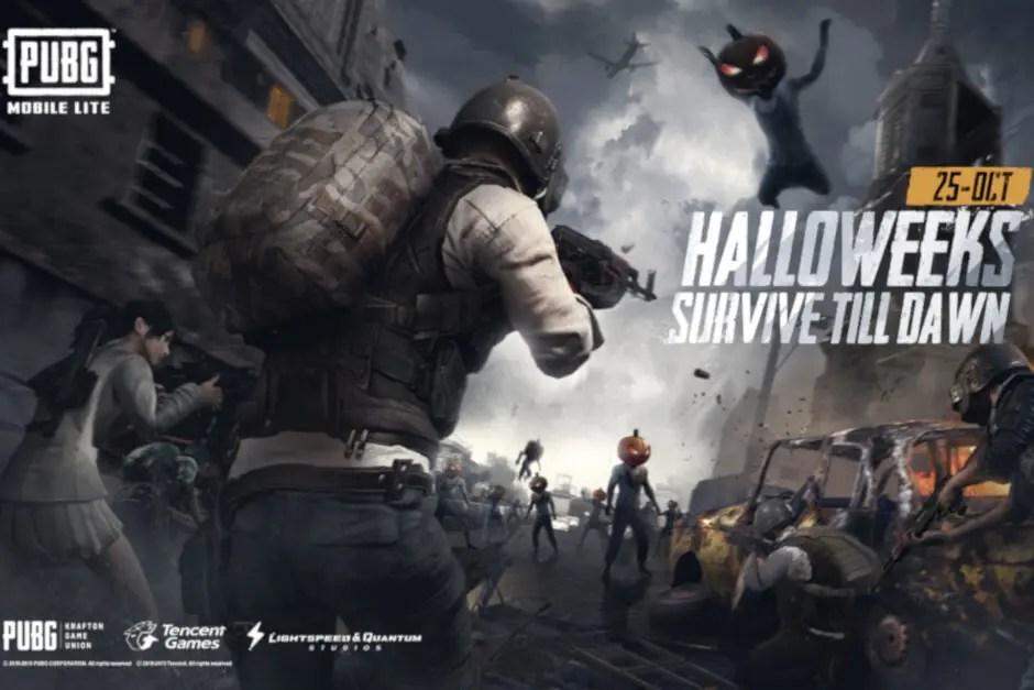 PUBG Mobile Lite adiciona um novo modo de sobrevivência Halloween 2