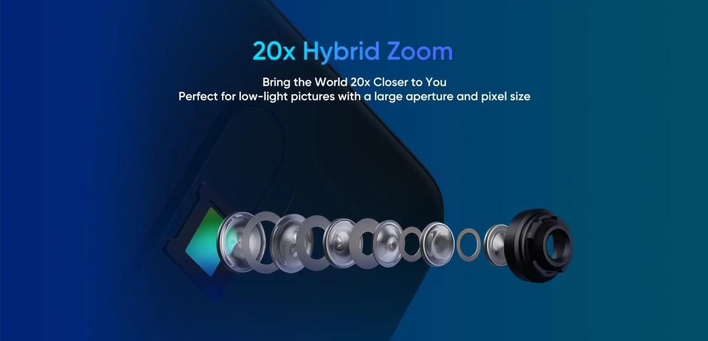 O Realme X2 Pro usará uma câmara traseira quad de 64MP central 1