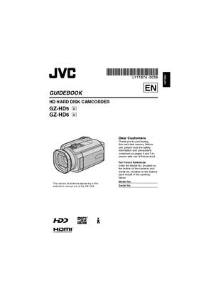 GZ-HD5 (ビクター) の取扱説明書・マニュアル