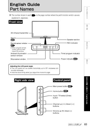 LC-46G7 (シャープ) の取扱説明書・マニュアル
